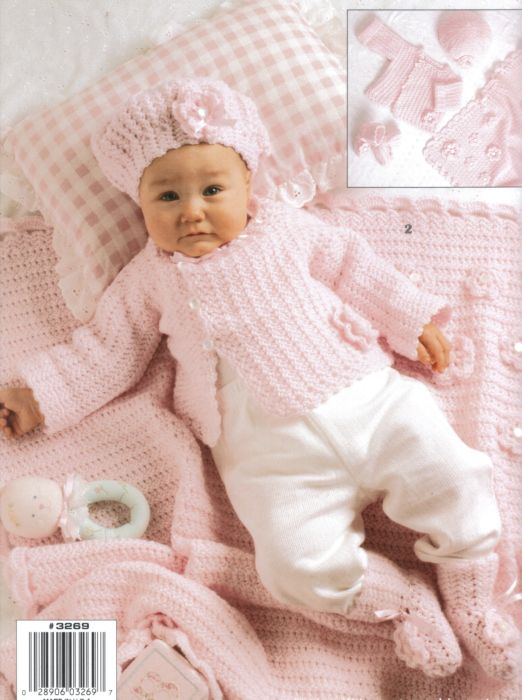 Cuddle Me Layettes Baby Crochet Pattern Book
